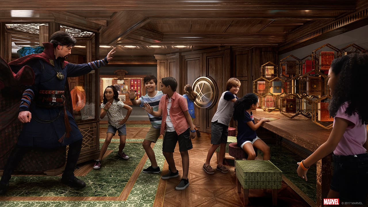 Disney Cruise Line To Offer Exciting New Experiences on the Disney Fantasy