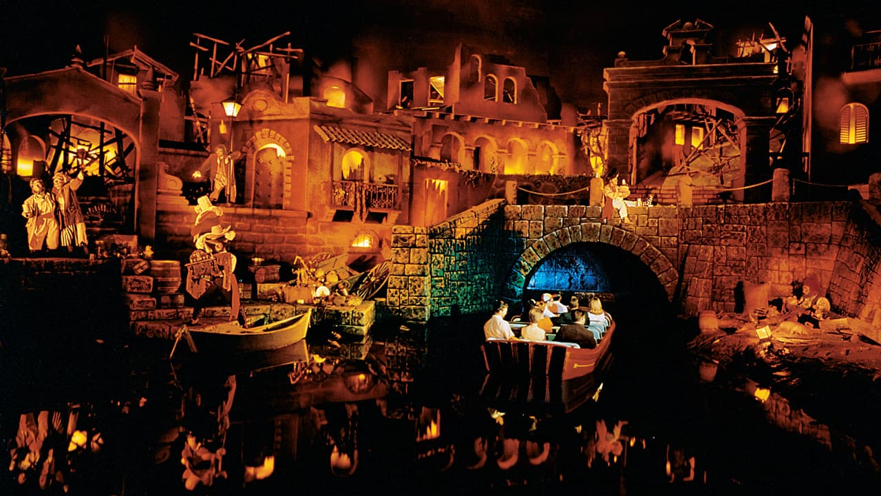 Pirates of the Caribbean Disneyland Park