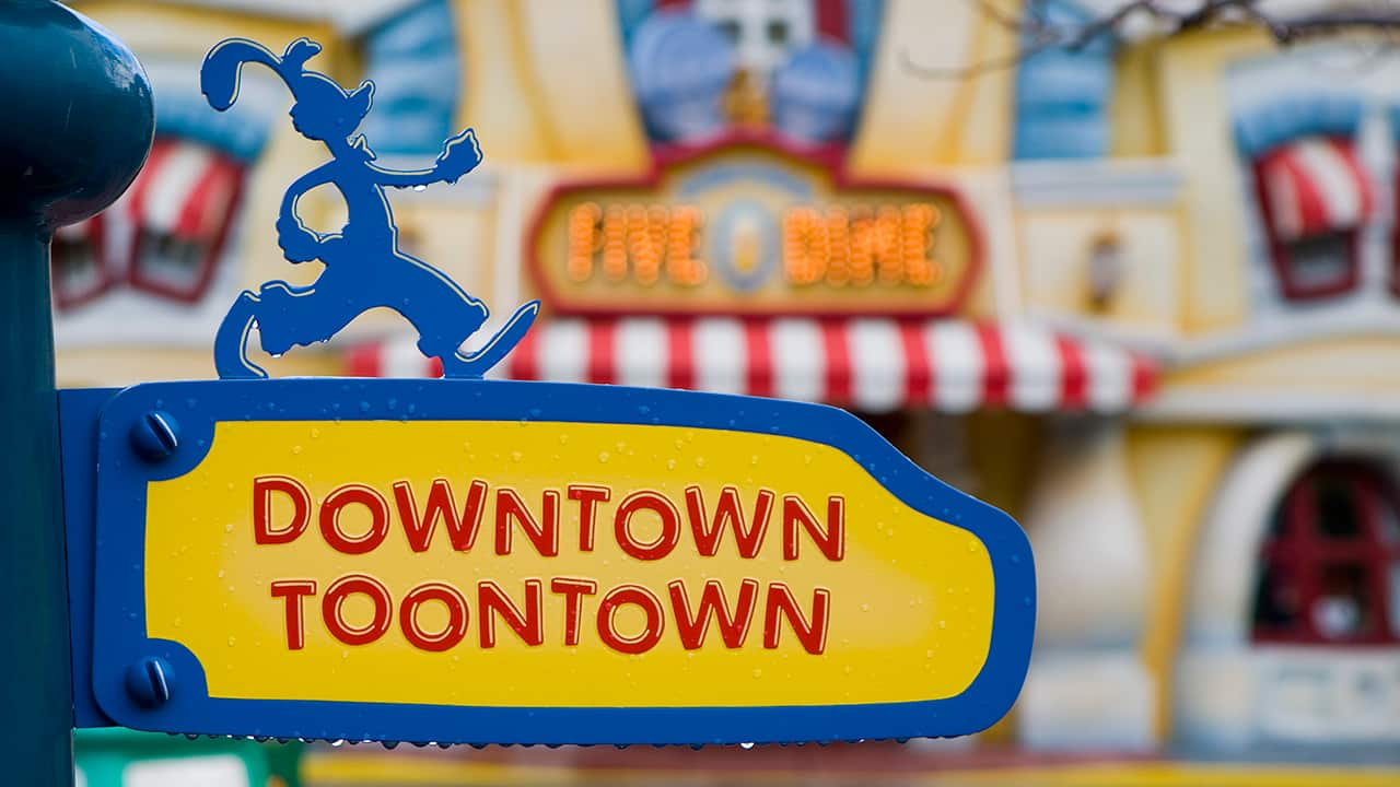 A Neighborhood with Character: Rainy Days in Mickey's Toontown at Disneyland Park