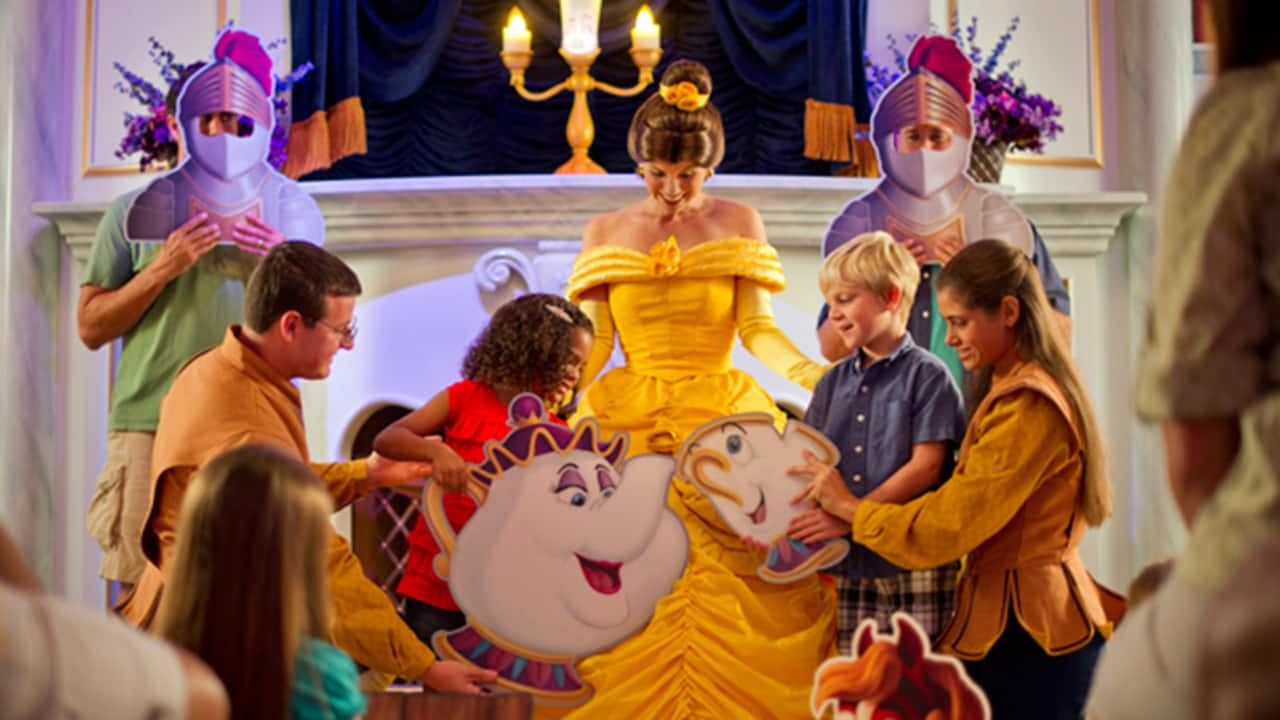 This Week in Disney Parks Photos: 'Beauty & The Beast' Fun Abounds at Walt Disney World