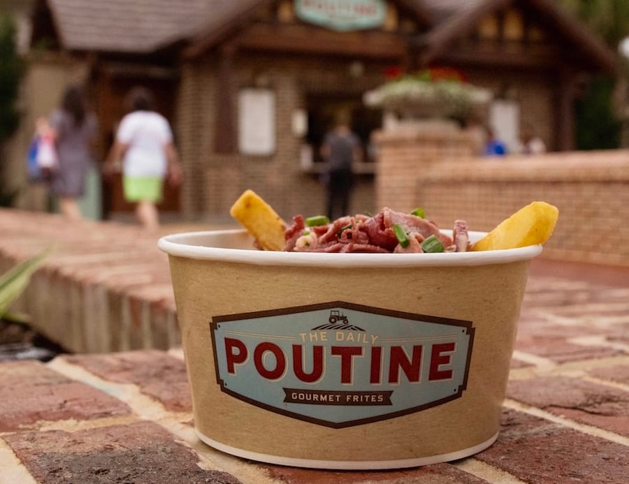 Corned Beef Poutine from The Daily Poutine
