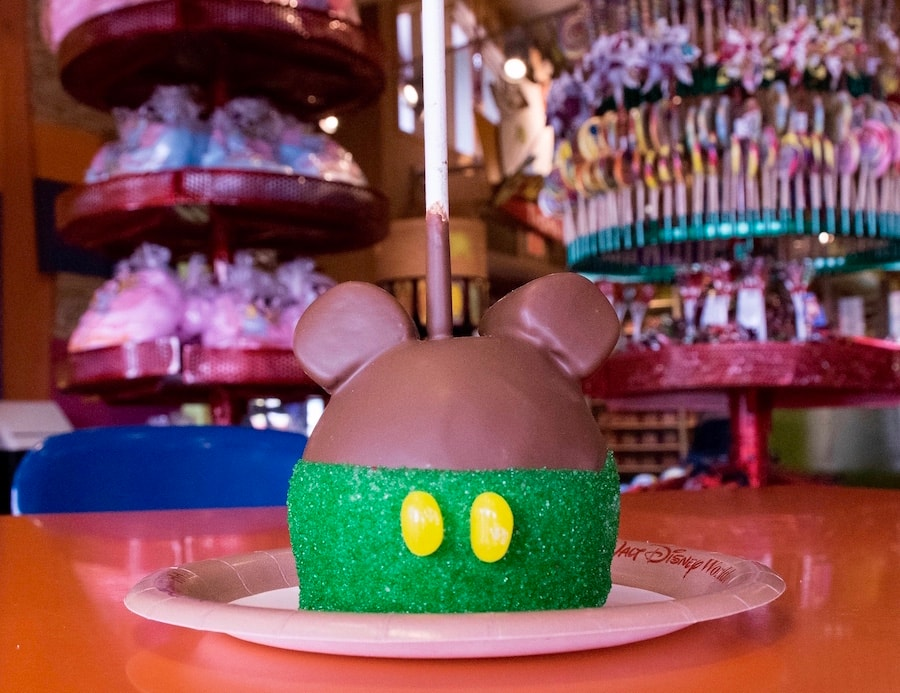 specialty apples from Goofy's Candy Co. and Candy Cauldron