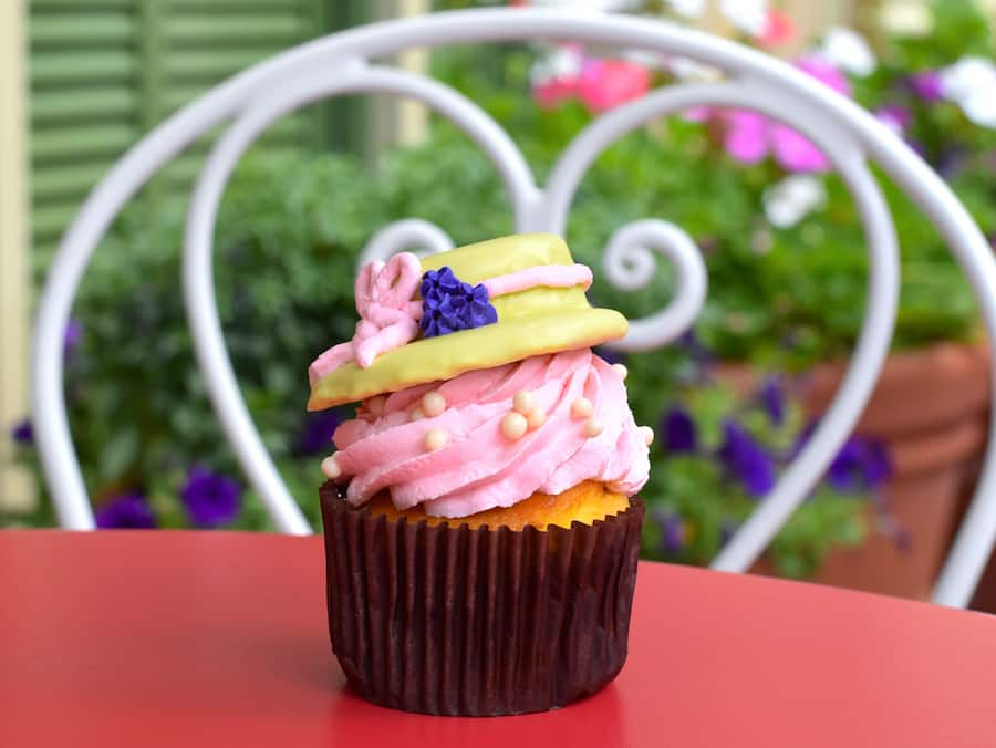 Specialty Easter Cupcake at Magic Kingdom Park