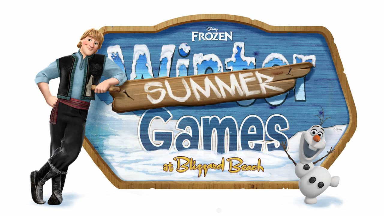 Frozen Summer Games Coming to Disney's Blizzard Beach Water Park Starting May 26