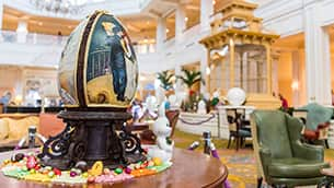 PHOTOS: Chocolate Easter Eggs at Disney's Grand Floridian Resort & Spa