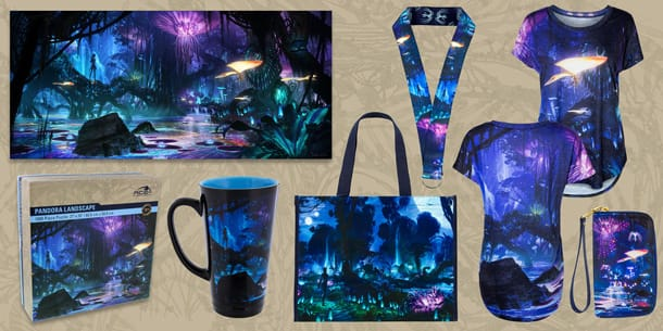 Creative Collaboration Key to Designing New Merchandise for Pandora – The World of Avatar