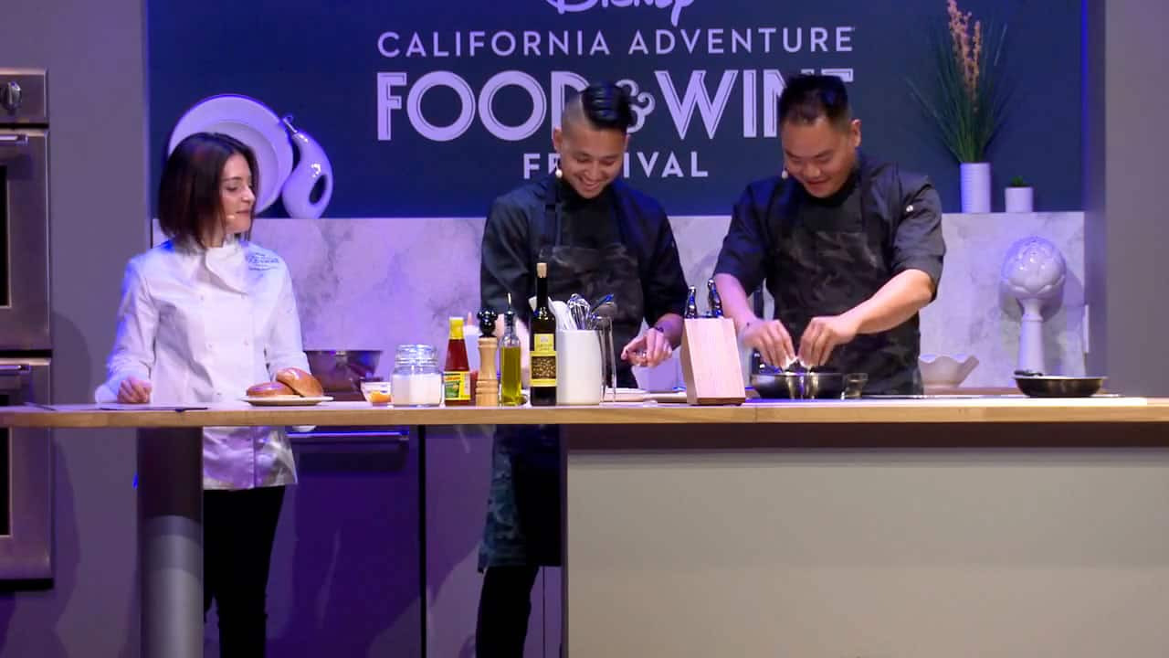 Culinary Demonstrations at the Disney California Adventure Food & Wine Festival