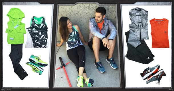 Galaxy-Inspired Looks for runDisney Star Wars Half Marathon – The Dark Side