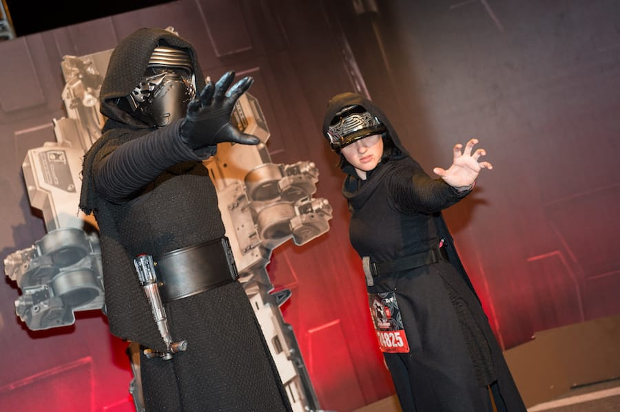 Most Impressive Looks at runDisney Star Wars Half Marathon – The Dark Side!