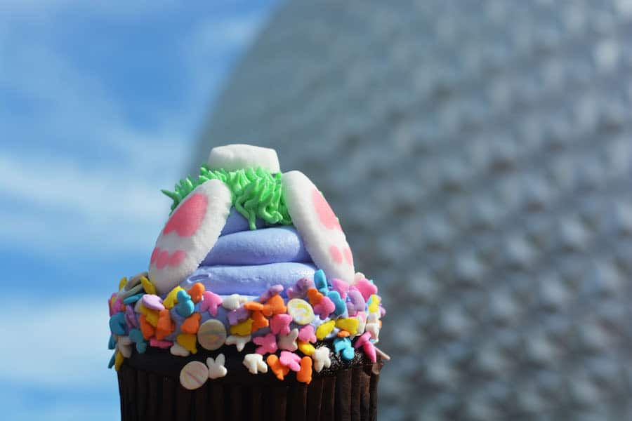 Specialty Easter Cupcake at Epcot