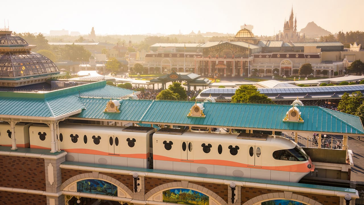 Good Morning From The Tokyo Disneyland Monorail Station