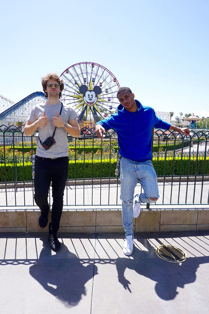 Freeform's 'Pretty Little Liars' Star Keegan Allen and 'Famous In Love' Star Keith Powers Take on Disneyland Resort