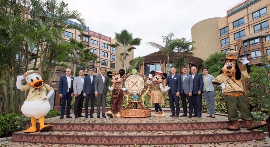 Hong Kong Disneyland Resort Celebrates the Grand Opening of Disney Explorers Lodge