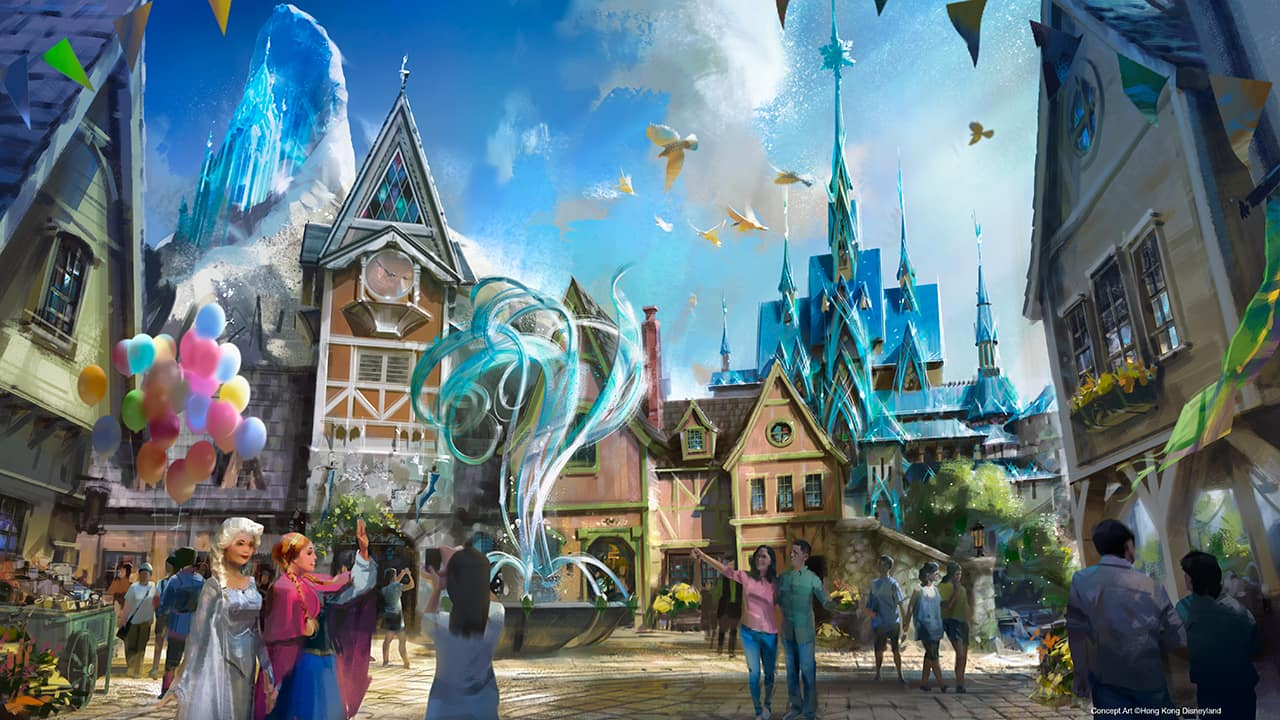 Frozen Marvel And More Coming To Hong Kong Disneyland Disney