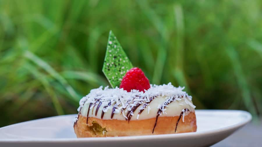 Pineapple Coconut Delight Donut from The Coffee House at the Disneyland Hotel