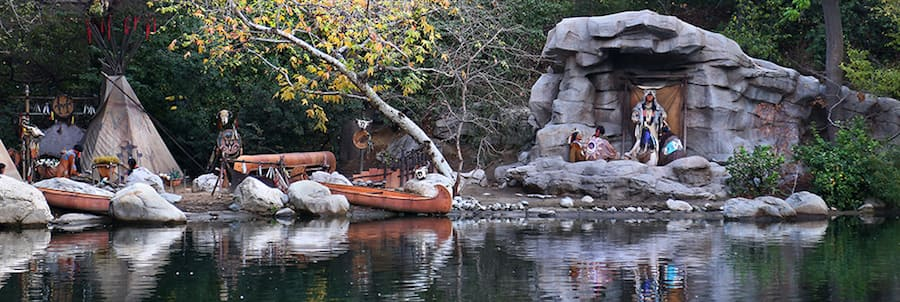 The Indian Village Found Along the Rivers of America