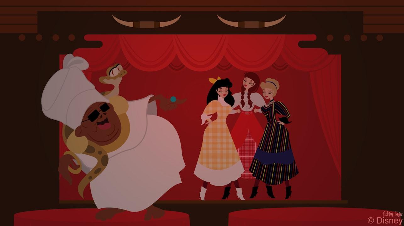 Mama Odie Visits 'Hoop Dee Doo Musical Revue'