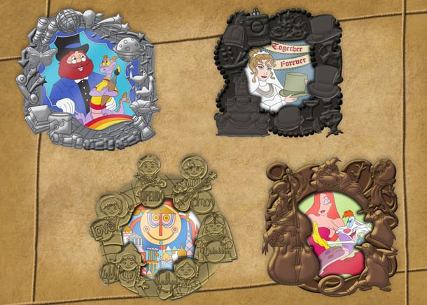 Love-Themed Disney Pin Celebration Coming to Epcot this August