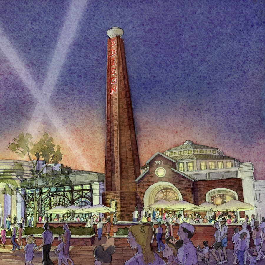 The Edison Coming to Disney Springs