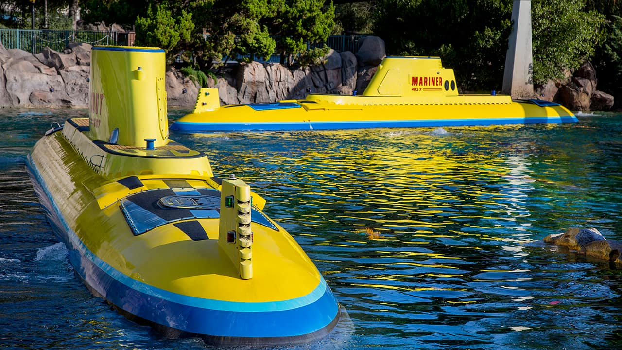 From Screen to Park: Finding Nemo Submarine Voyage at Disneyland Park