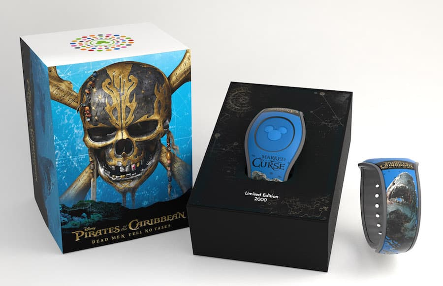 'Pirates of the Caribbean: Dead Men Tell No Tales'-Themed MagicBand