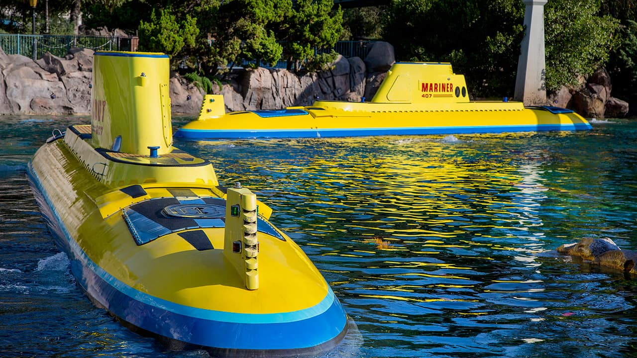 Ten Years of Finding Nemo Submarine Voyage at Disneyland Park