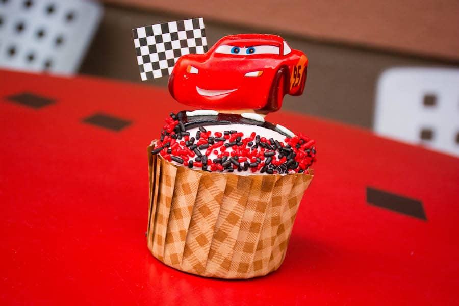 'Cars 3'-Inspired Cupcake Coming to Disney's Hollywood Studios