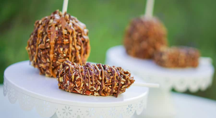 Pecan Turtle Gourmet Apple at Disneyland Resort