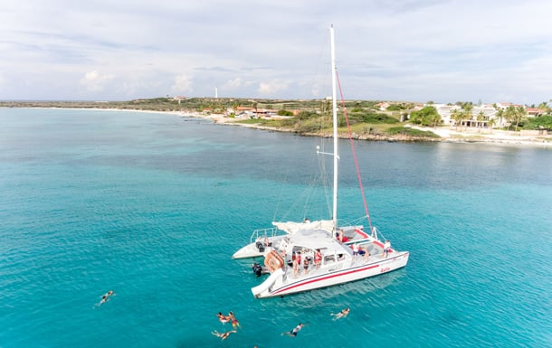 Escape to Aruba with Disney Cruise Line - Catamaran Sailing and Snorkeling