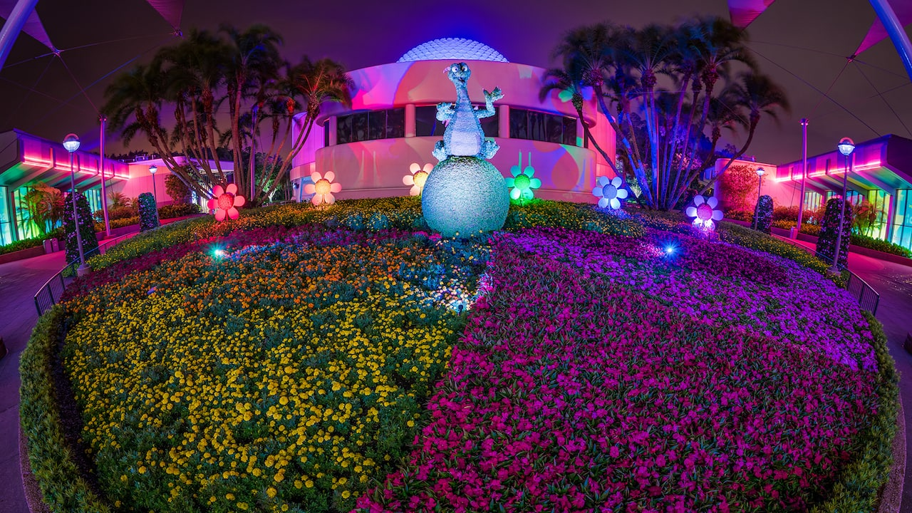Figment Adds Color At Epcot