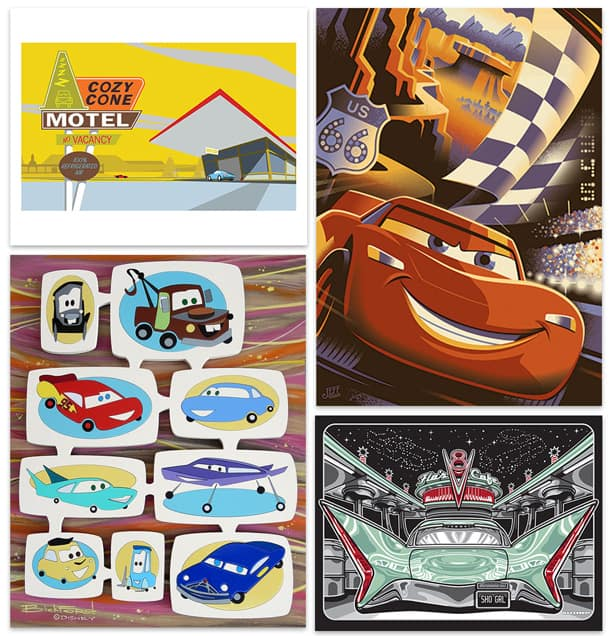 Artists Celebrate Disney-Pixar's 'Cars' and Cars Land at Disney California Adventure Park This Month