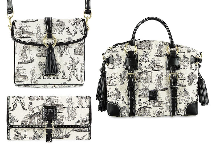 Pirates of the Caribbean-Inspired Dooney & Bourke Handbag Collection