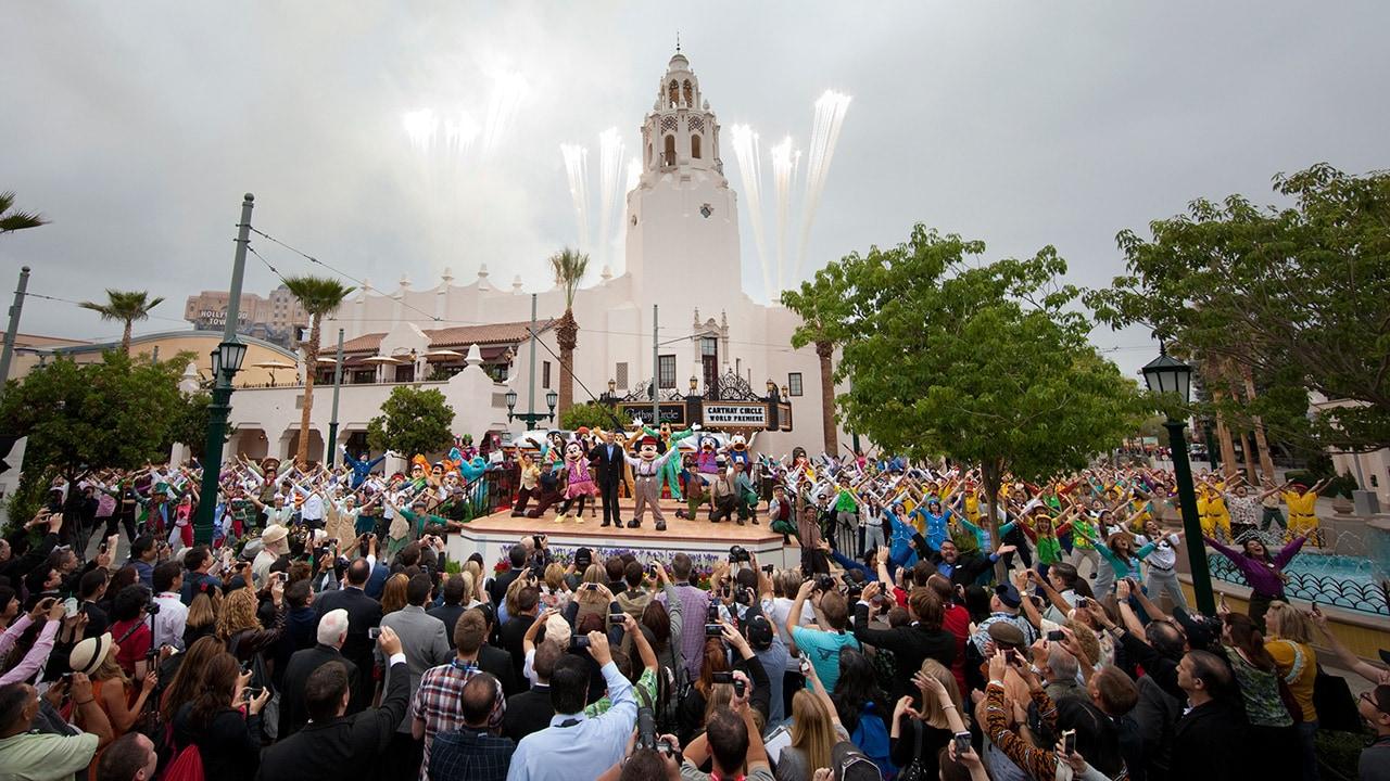 Cars Land and Buena Vista Street Headline Grand Reopening of Disney California Adventure Park, 2012