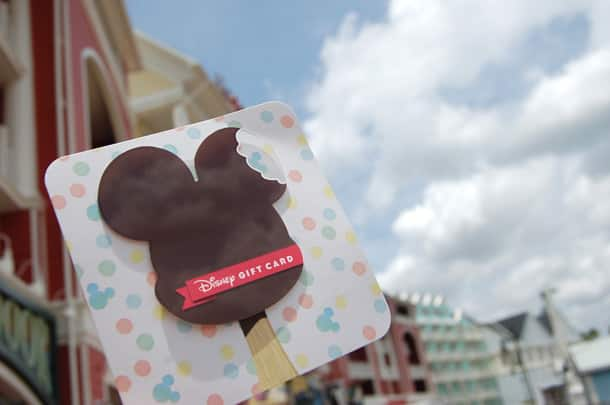 "Cool Off with a ""Sweet"" New Disney Gift Card Design!"