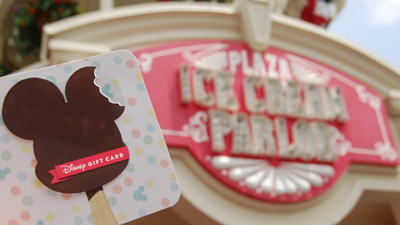 """Cool Off with a """"Sweet"""" New Disney Gift Card Design!"""