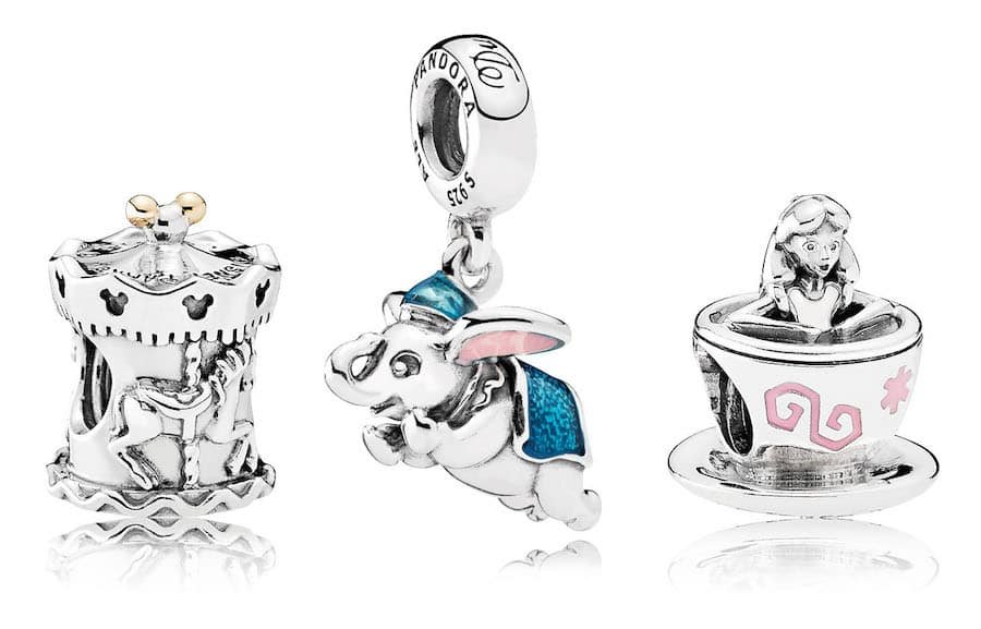 disney parks exclusive pandora charms 2019