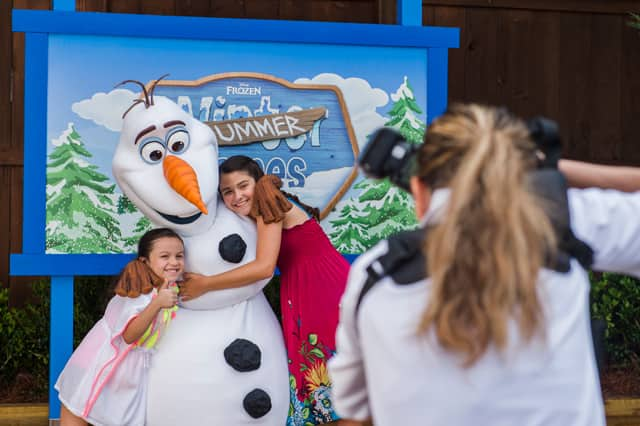 "As the Weather Heats Up, Cool Off with the ""Frozen"" Summer Games at Disney's Blizzard Beach"