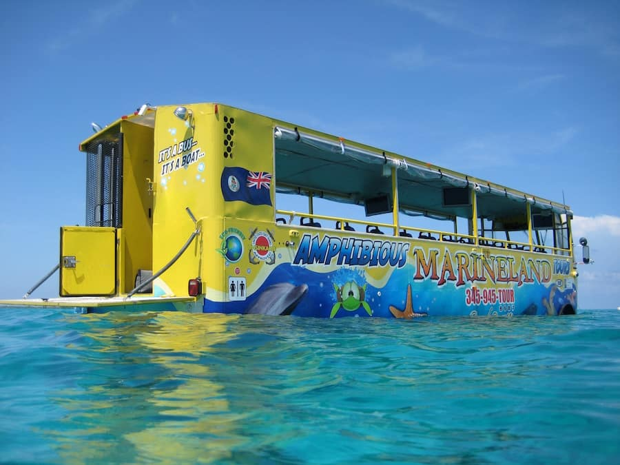 Amphibious Bus Land and Sea Adventure Port Adventure With Disney Cruise Line