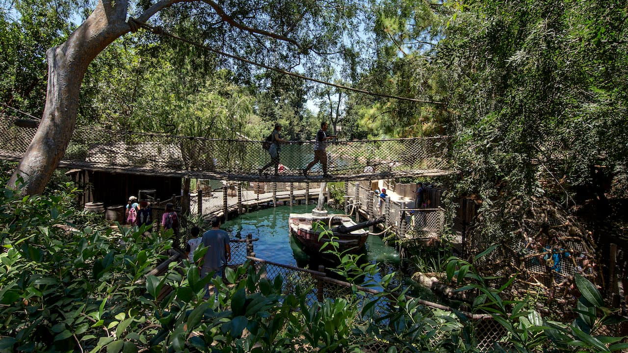Pirate's Lair on Tom Sawyer Island at Disneyland Park