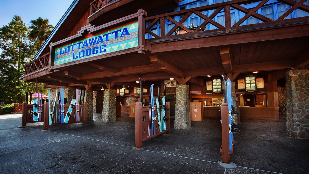 Fuel your Water Park Fun with Lunch at Lottawatta Lodge at Disney's Blizzard Beach Water Park