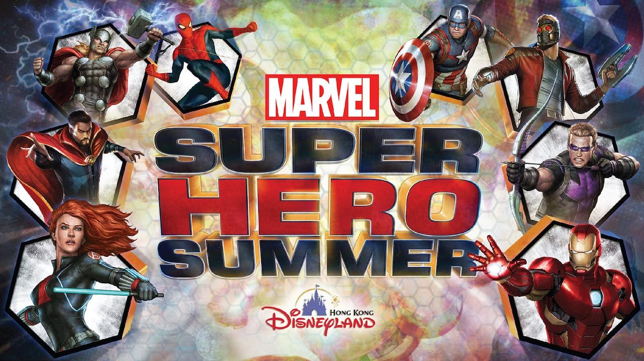 Marvel Super Hero Summer Arrives at Hong Kong Disneyland
