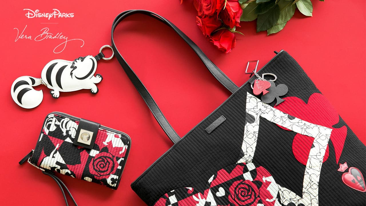 Paint the Roses Red with New Disney Parks Collection by Vera Bradley Blooming This Summer