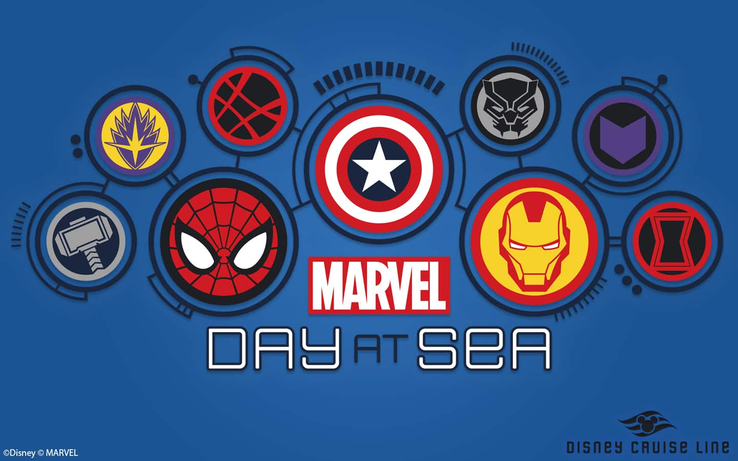 Marvel Day At Sea Wallpapers Desktop Disney Parks Blog