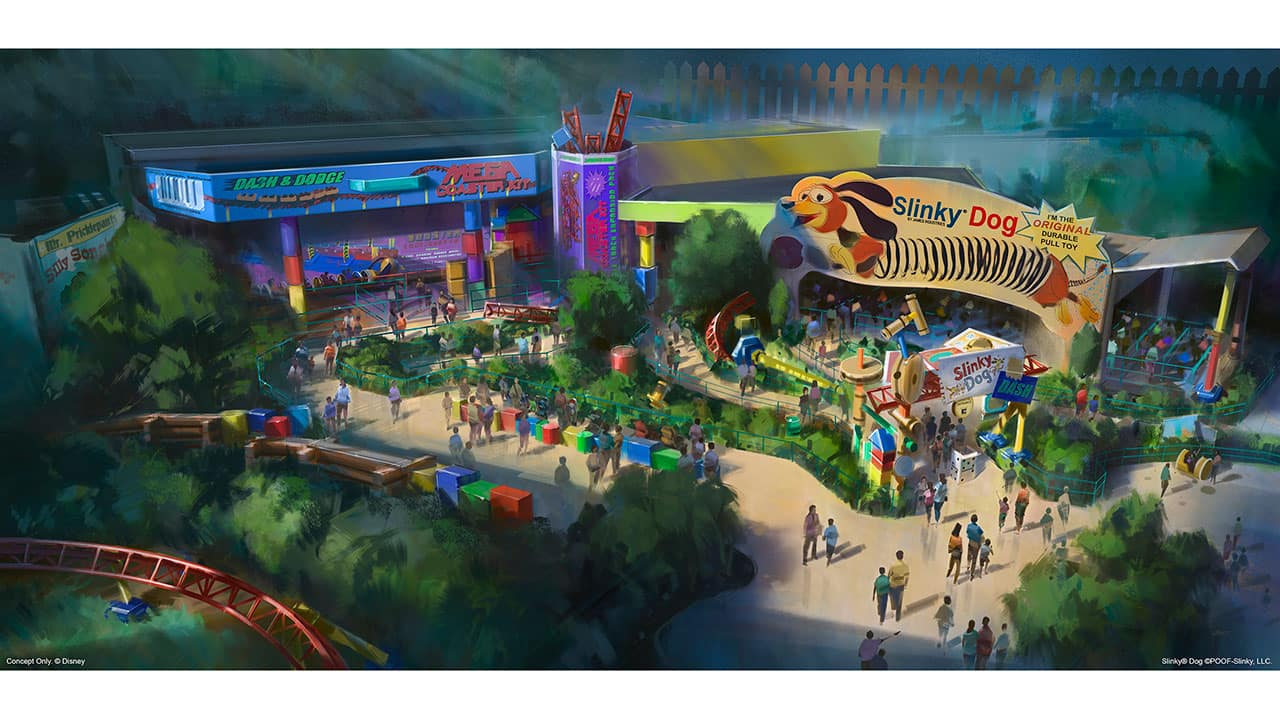 Toy Story Land To Open At Walt Disney World Resort In Summer 2018