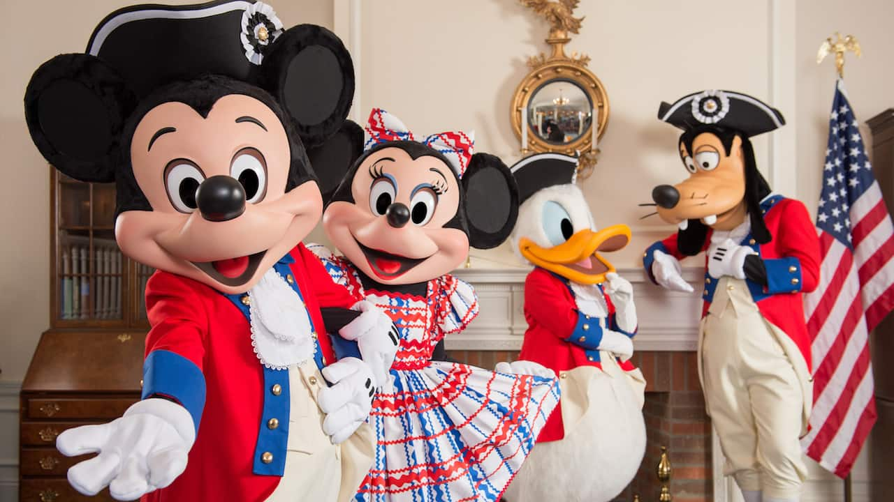 Celebrate America With Patriotic Photos From Disney