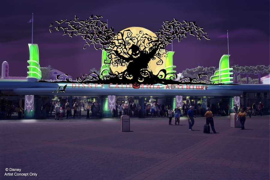 Halloween Time at the Disneyland Resort Expands to Disney California Adventure Park When it Returns September 15 through October 31, 2017