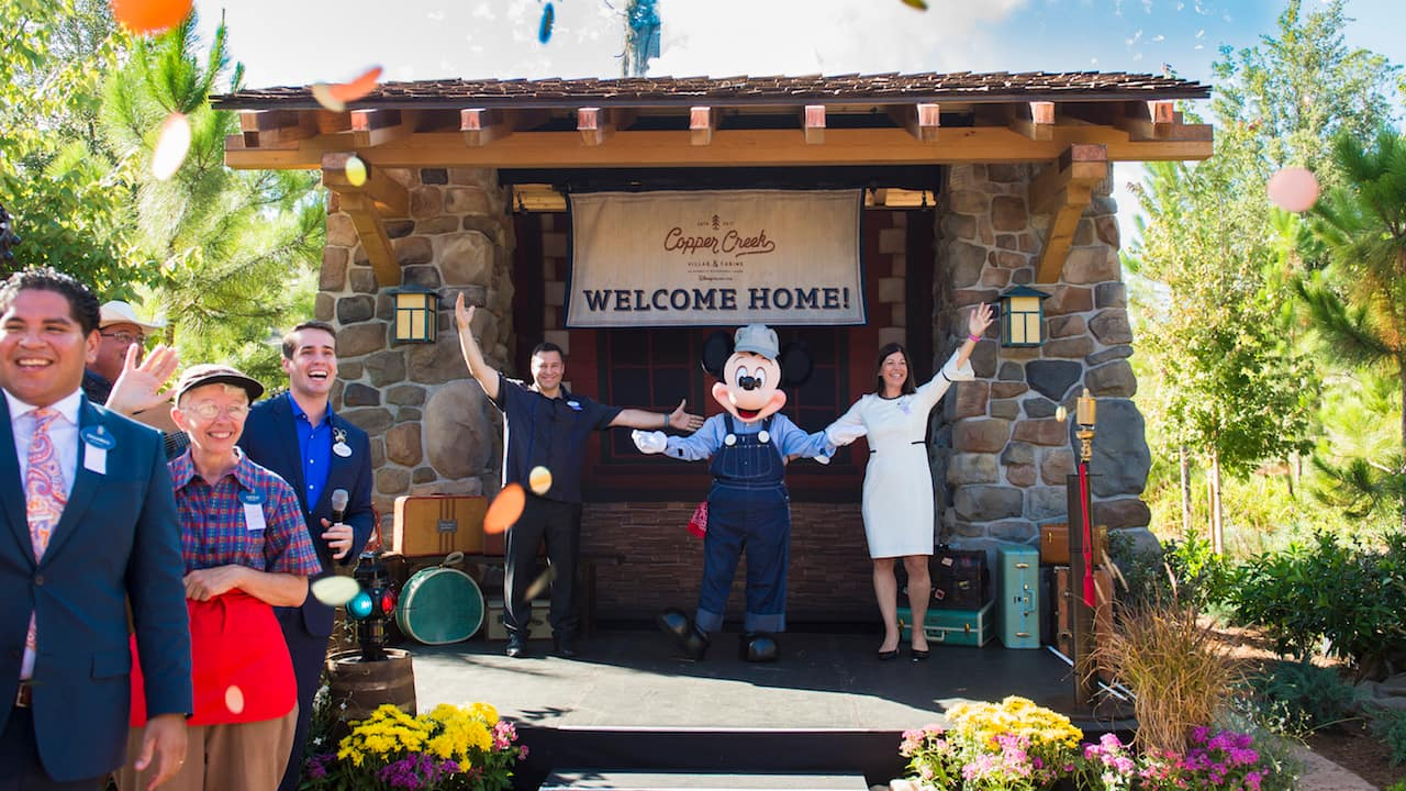 Copper Creek Villas & Cabins at Disney's Wilderness Lodge is Now Open