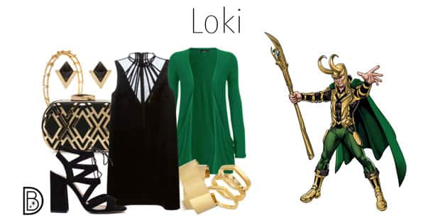 Celebrate Super Heroes and Villains in Mythic Fashion at Marvel Day at Sea - Loki
