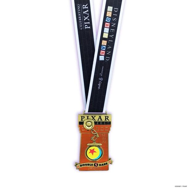 Medal Monday: runDisney and Pixar Team Up on Disneyland Half Marathon Weekend Medals