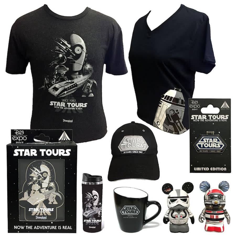 'Through the Years' Collections Will Celebrate Key Milestones at Disney Parks During D23 Expo 2017
